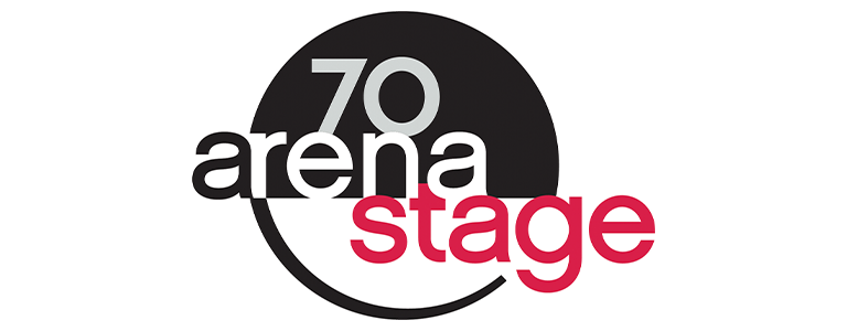 Arena Stage 70th year logo